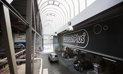 CarwashPlus nieuwe stofzuiger hal